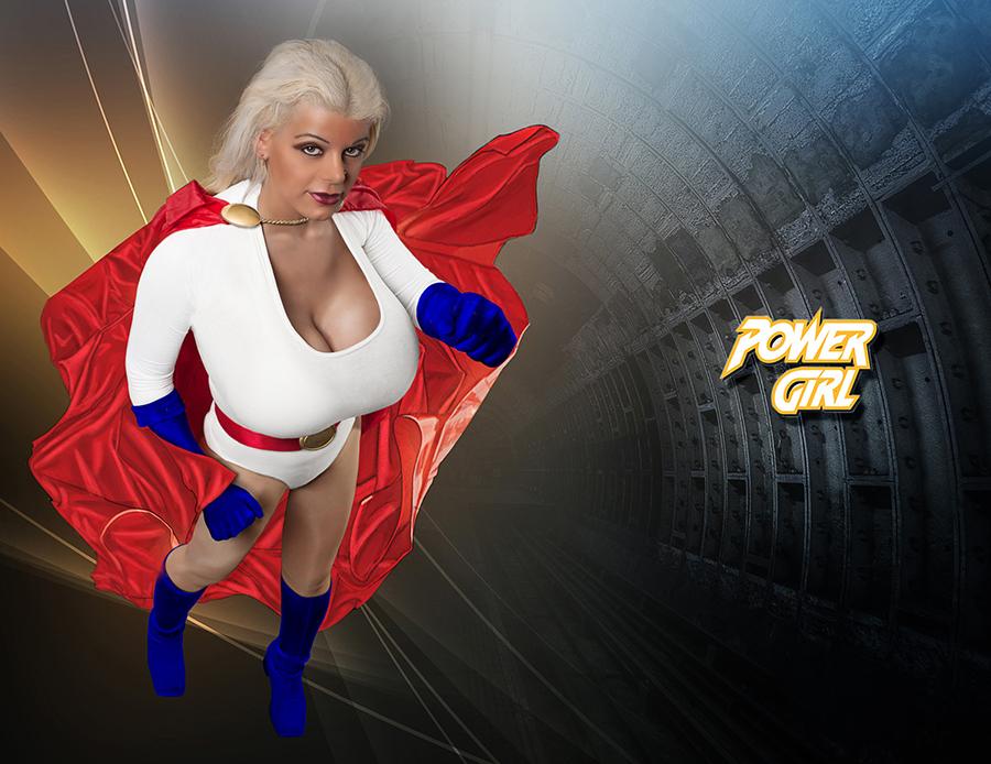 Martina Big - Power Girl Foto & Bild | szene, cosplay