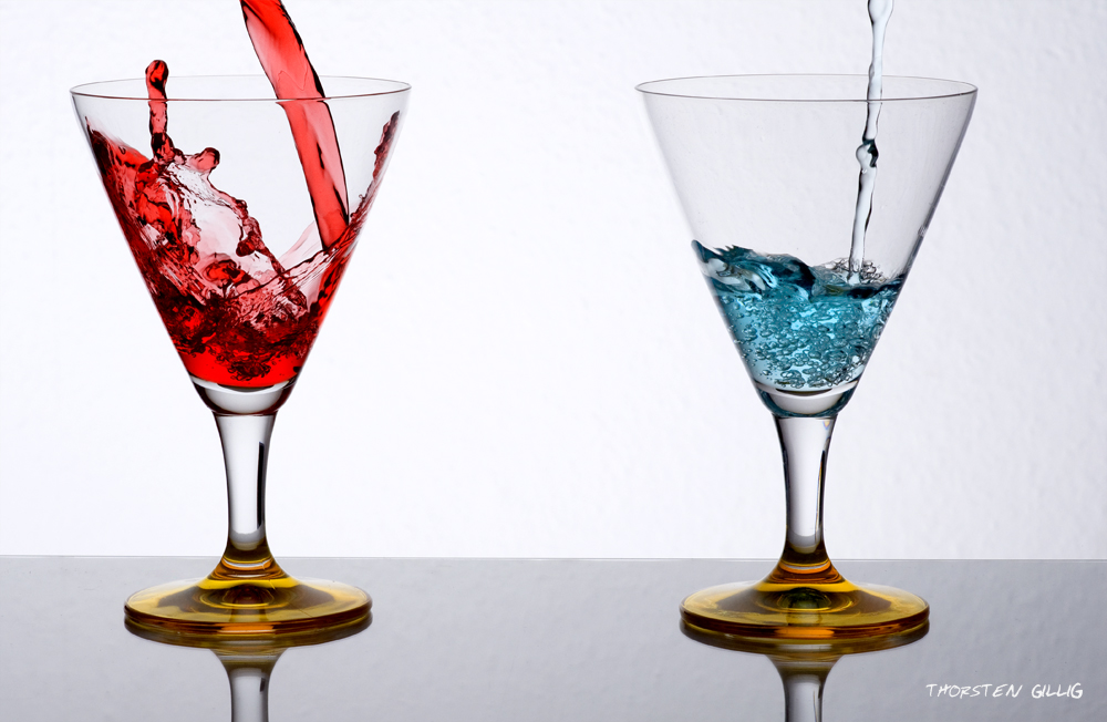 Martini Rot/Blau