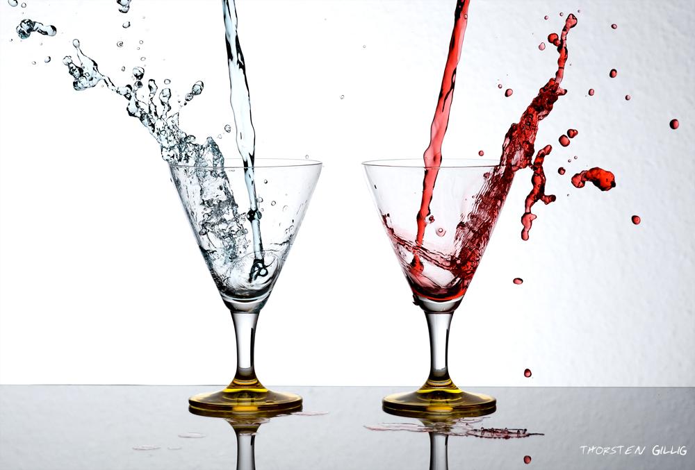 Martini Rot/Blau - goes wild