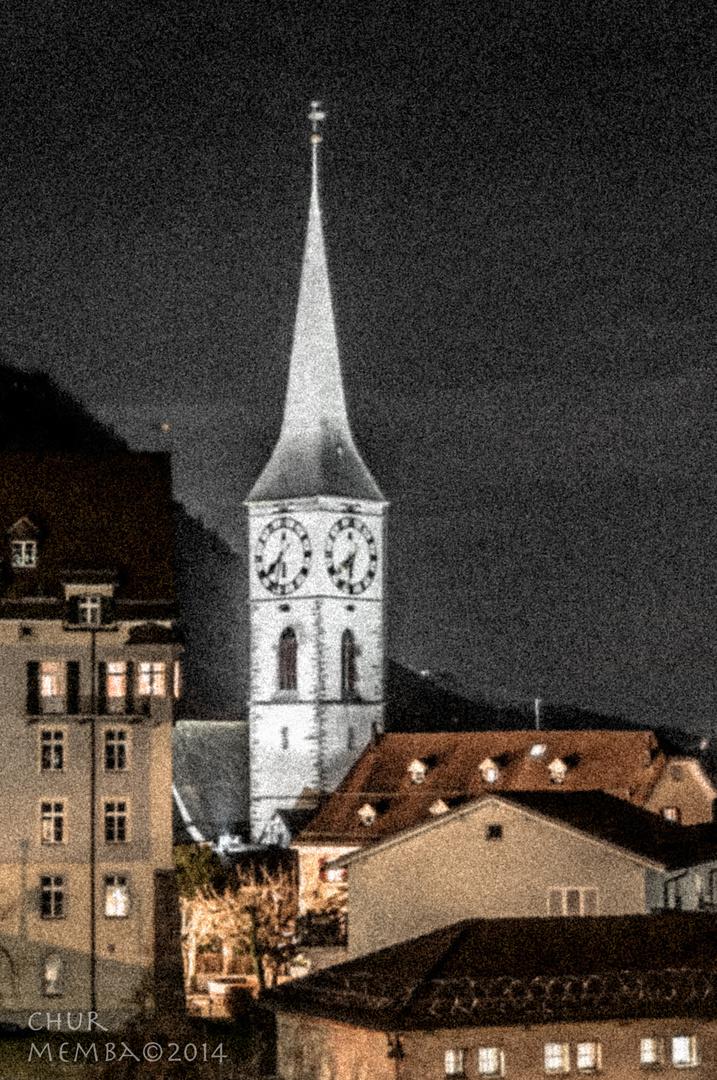 --- Martinskirche in der Altstadt Chur ---