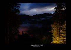 Martinsloch by Night