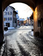 Martinstor - am Winterabend