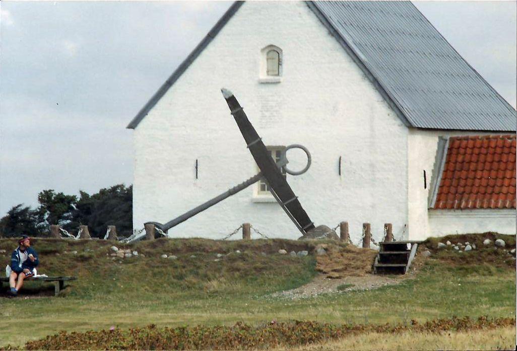 Marup Kirche - da stand sie noch