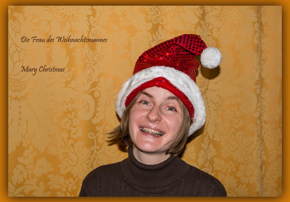 Mary ... ah .... Merry Christmas