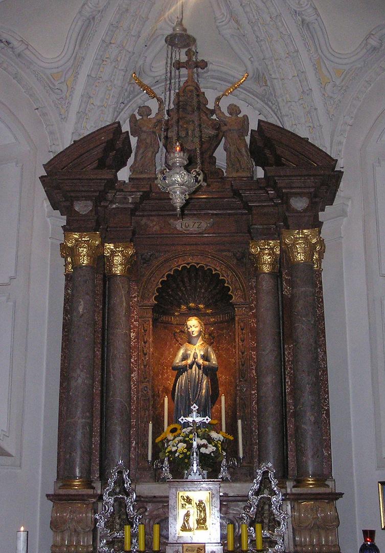 Mary at Berchesgaden