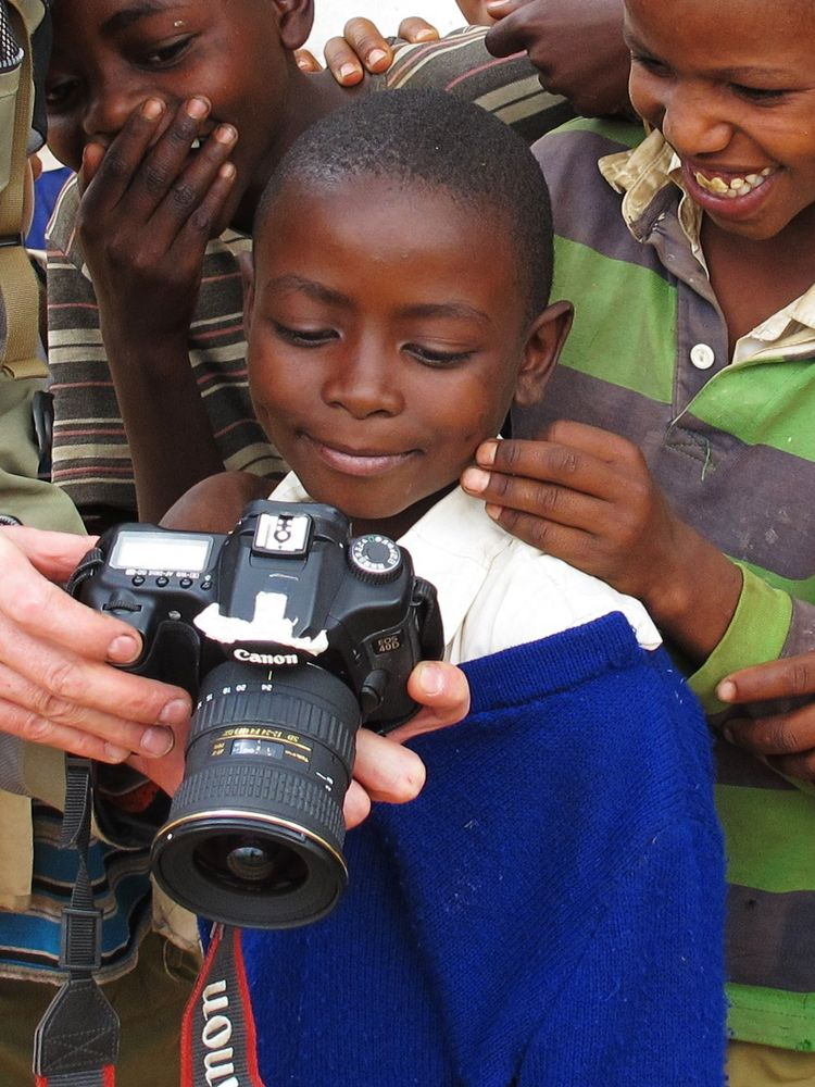 Masai-Junge in Tansania