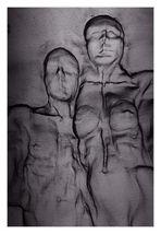 Maschendraht-Paar