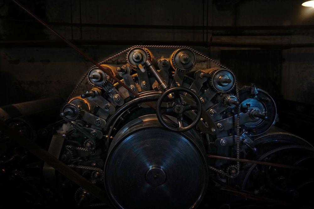 Maschinen Detail