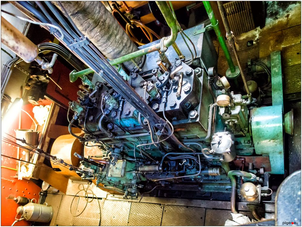 Maschinenraum der Franz-Kristian Lauenburg