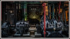 Maschinensaal Kohlekraftwerk Lissabon