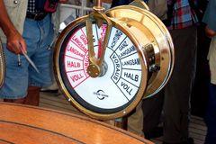Maschinentelegraph der Gorch Fock