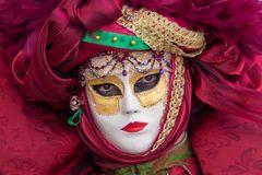 Maske beim Karneval