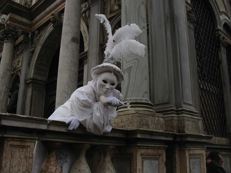 Masken in Venedig 03