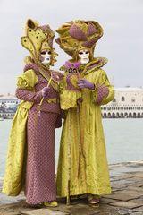 Masken Paar