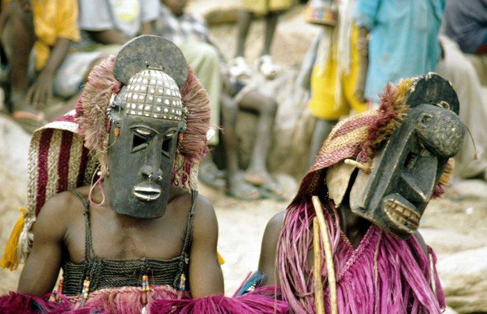 Maskentanz der Dogon (Mali)