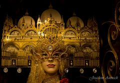 Maskerade in Venedig