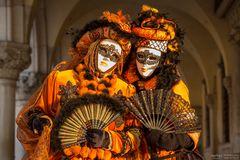 Masks in orange