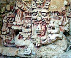 Masque maya du Dieu du soleil
