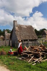 Massachusetts   the first settlement  