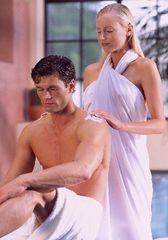 Massage in der Mediterana Anlage Bergisch Gladbach