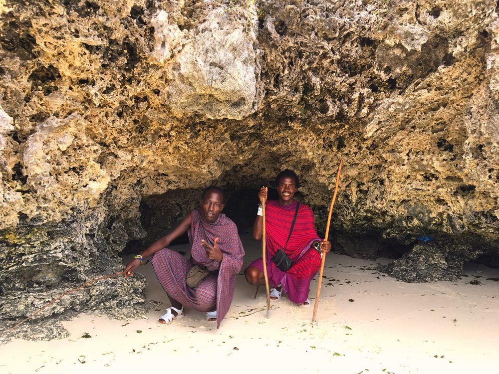 Massai auf Zansibar 2017