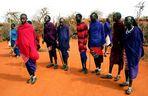 Massai beim Tanzen