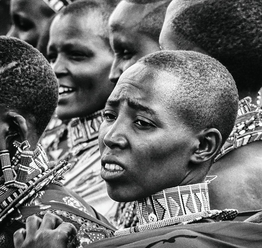 Massai B&W No. 1