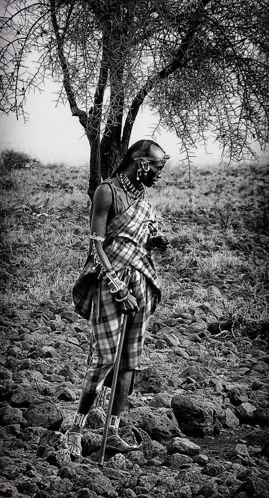 Massai B&W No. 5
