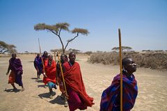 massai greeting