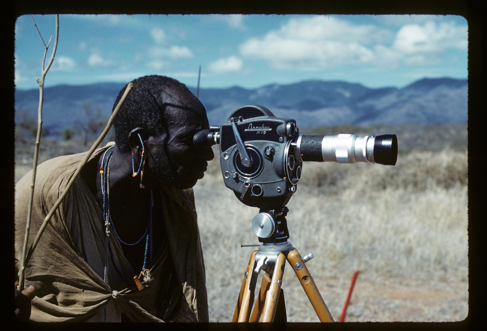 Massai in der Amboseli Steppe - 1961