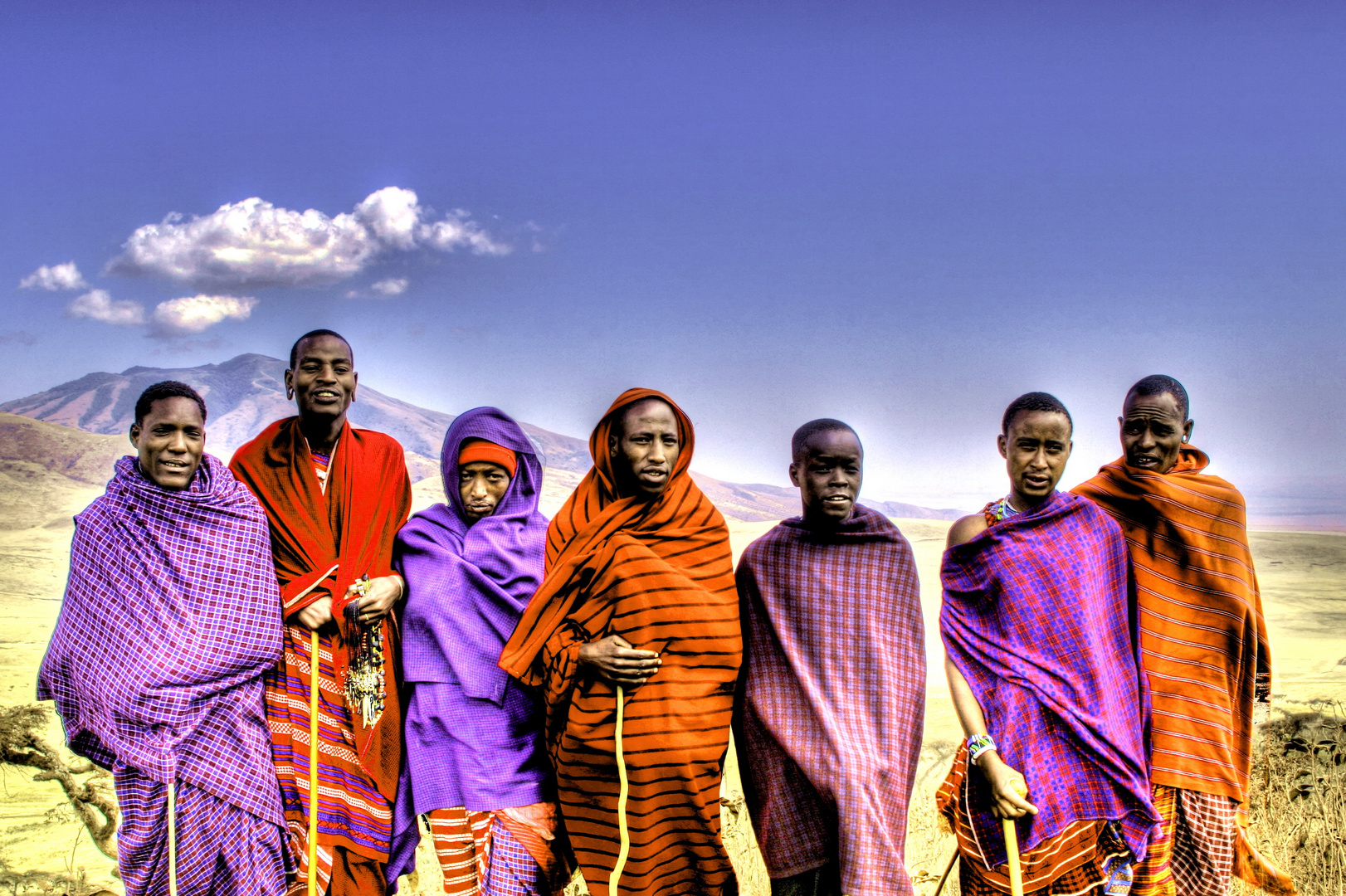 Massai in Tansania