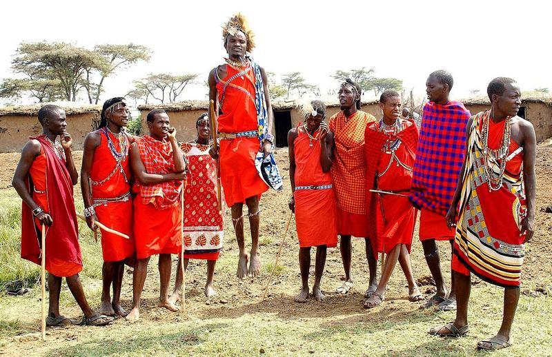 Massai Krieger