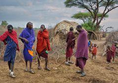 Massai Men