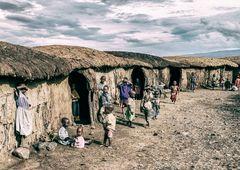 Massaidorf, Kenia