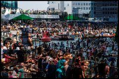 Massentourismus, Sail Amsterdam 2016