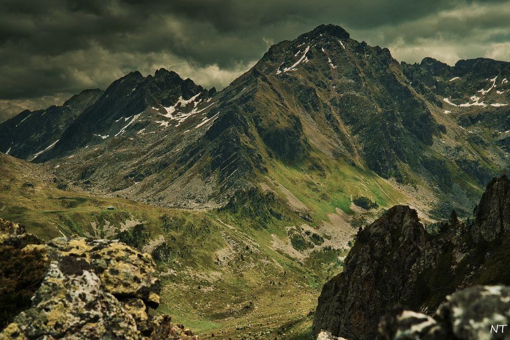 Massif du Rulhe (Ariège).