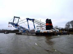 MATADOR 3 auf dem Nord-Ostsee-Kanal
