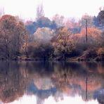 Matin d'automne sur le lac
