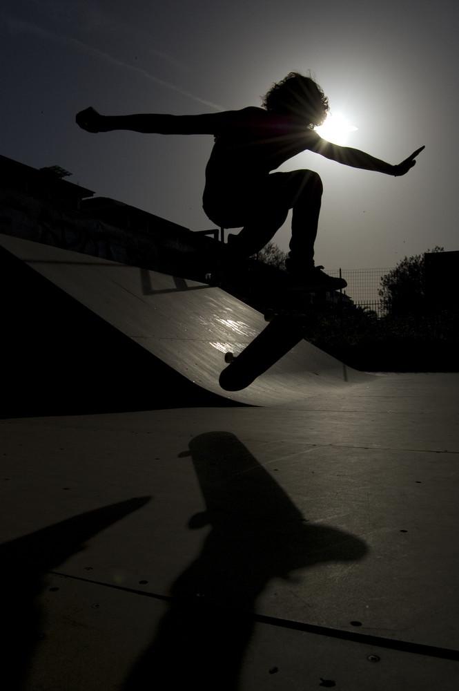 matteo salta con il sole