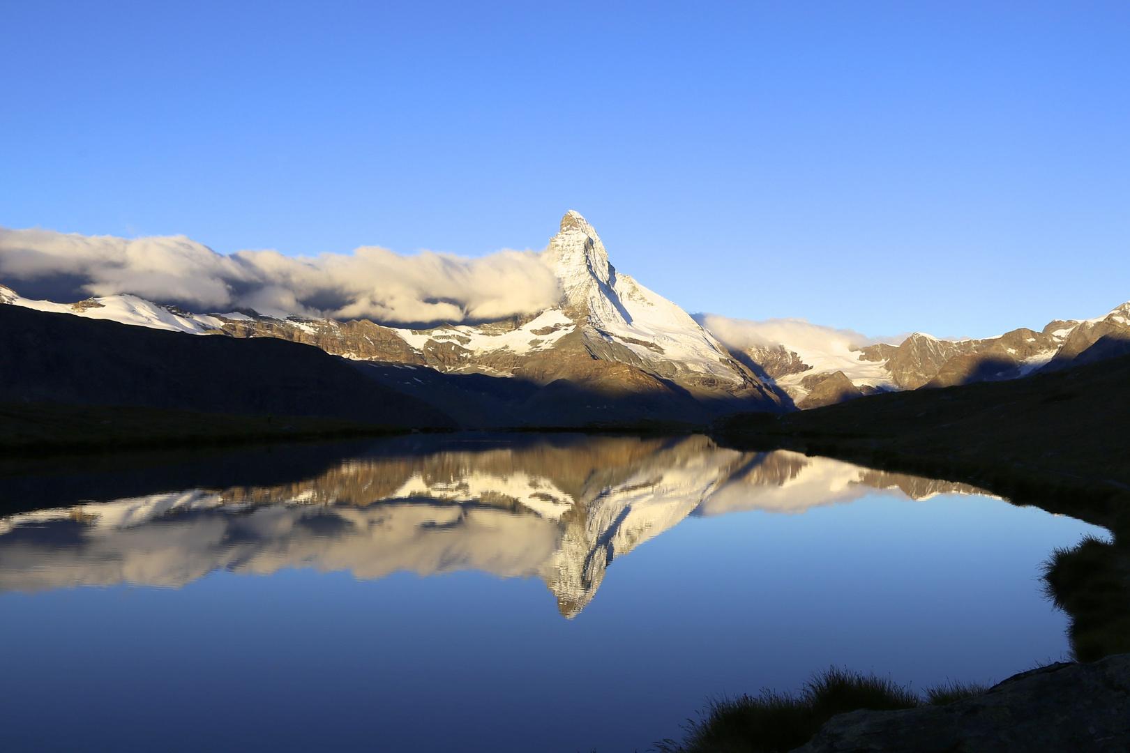 Matterhorn im Sonnenaufgang
