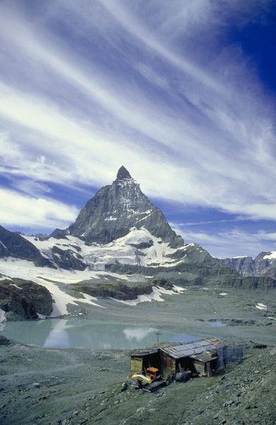 Matterhorn mal von der anderen Seite