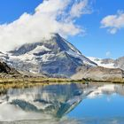 Matterhorn mit Riffelsee
