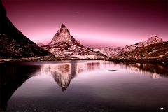 //matterhorn reflection//