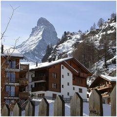 Matterhorn und andere Spitzen