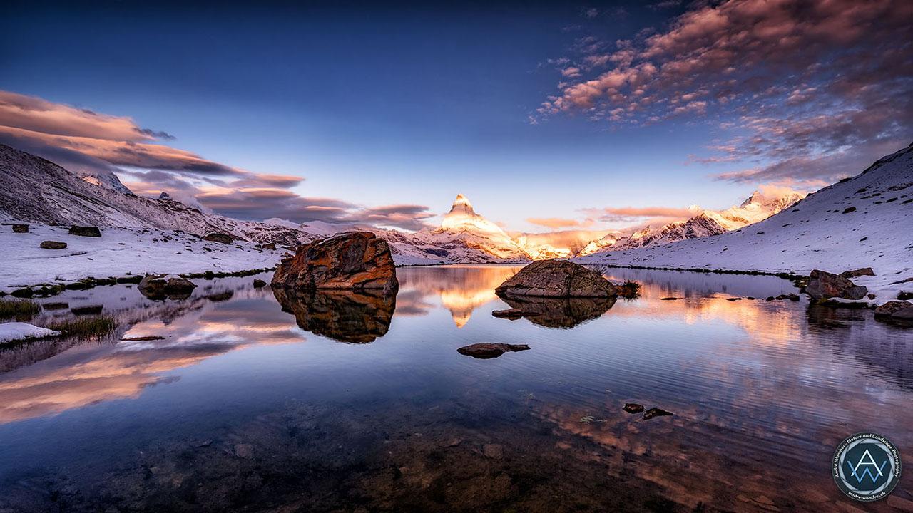 Matterhorn zum Sonnenaufgang