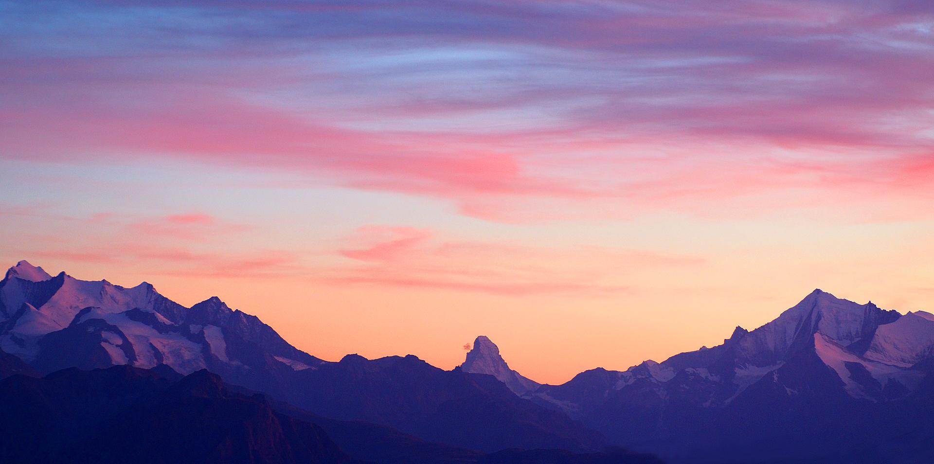 Matterhorn_Morgenstimmung