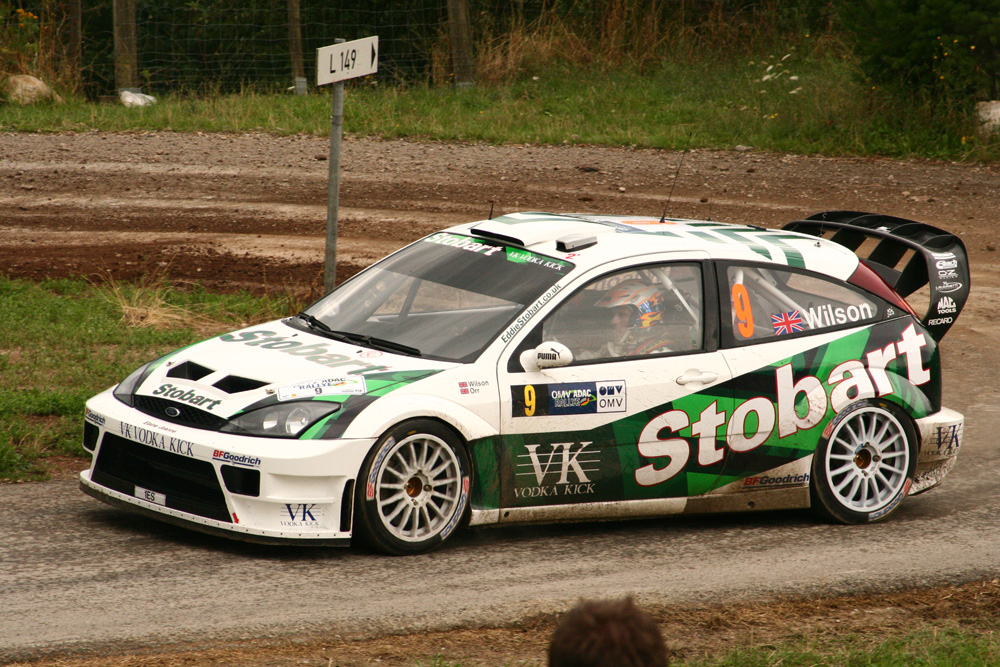 Matthew Wilson im Stobart Ford Focus WRC