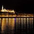 Matthias Church with Danube River - Budapest