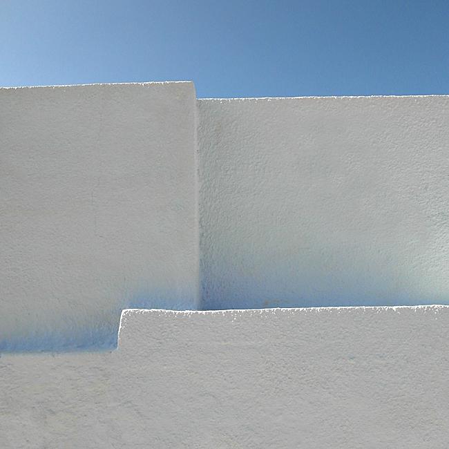 Mauern und Himmel