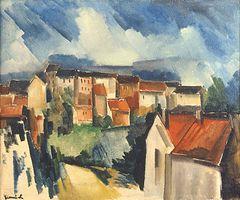 Maurice de Vlaminck Dorf (1911)